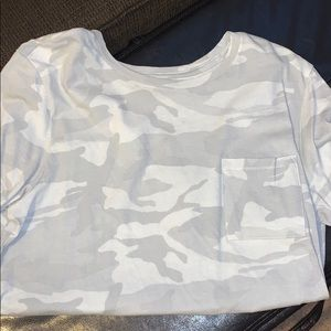 Abercrombie & Fitch Tops - Size small camo T-shirt!